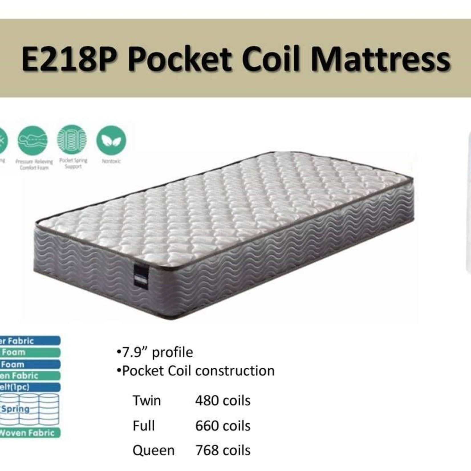 E218P Pocket Coil Double Mattress