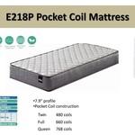 E218P Pocket Coil Twin Mattress in a Box