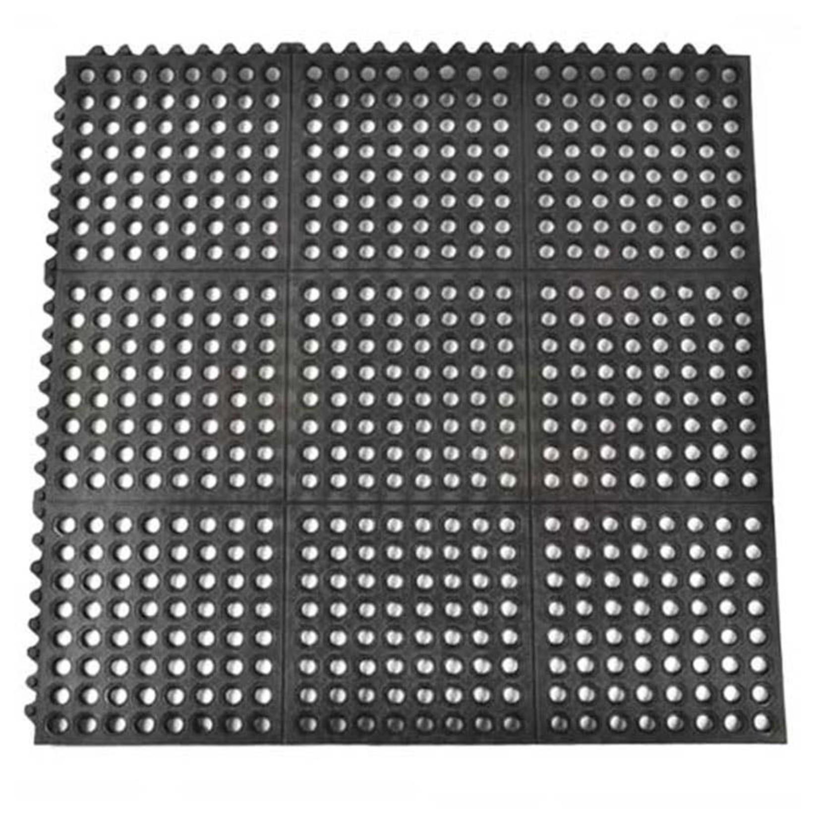 "RedBarn Washrack Perforated & Interlocking Mat 3'x3'x1/2"""