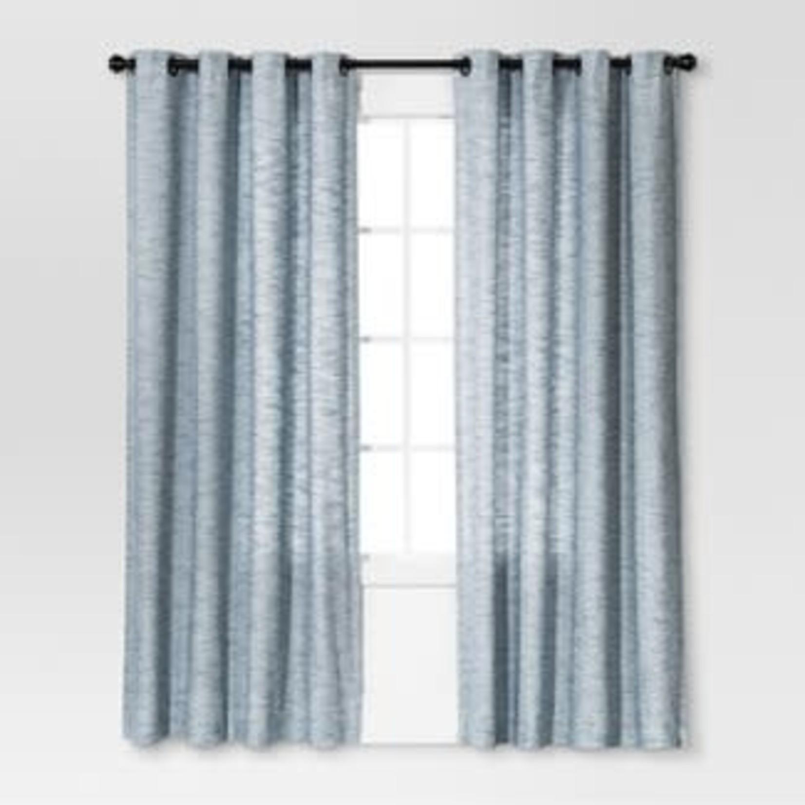 "Threshold Diamond Weave Window Curtain Panel 54""x84"""