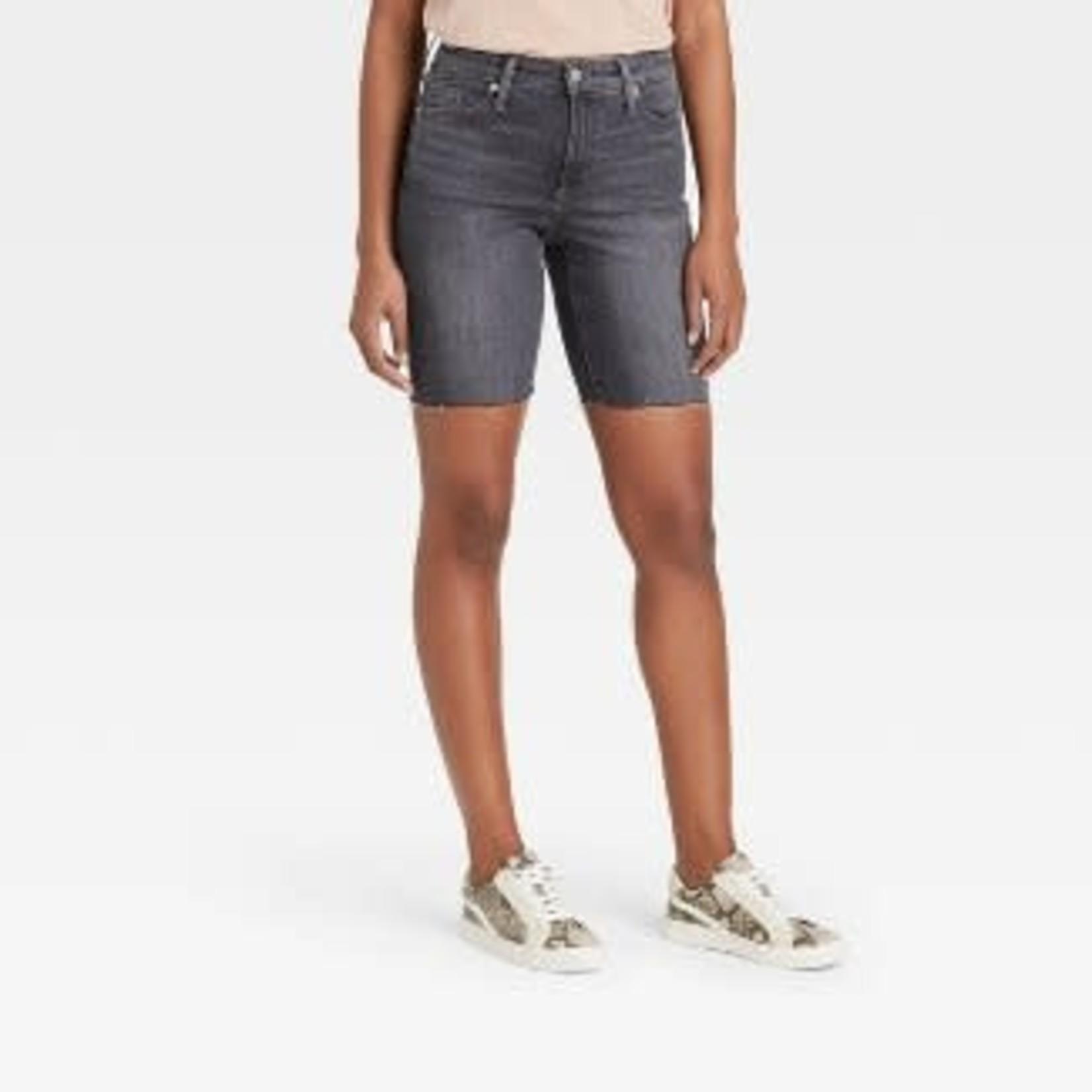 Universal Thread | Women's High-Rise Bermuda Jean Shorts Size 8