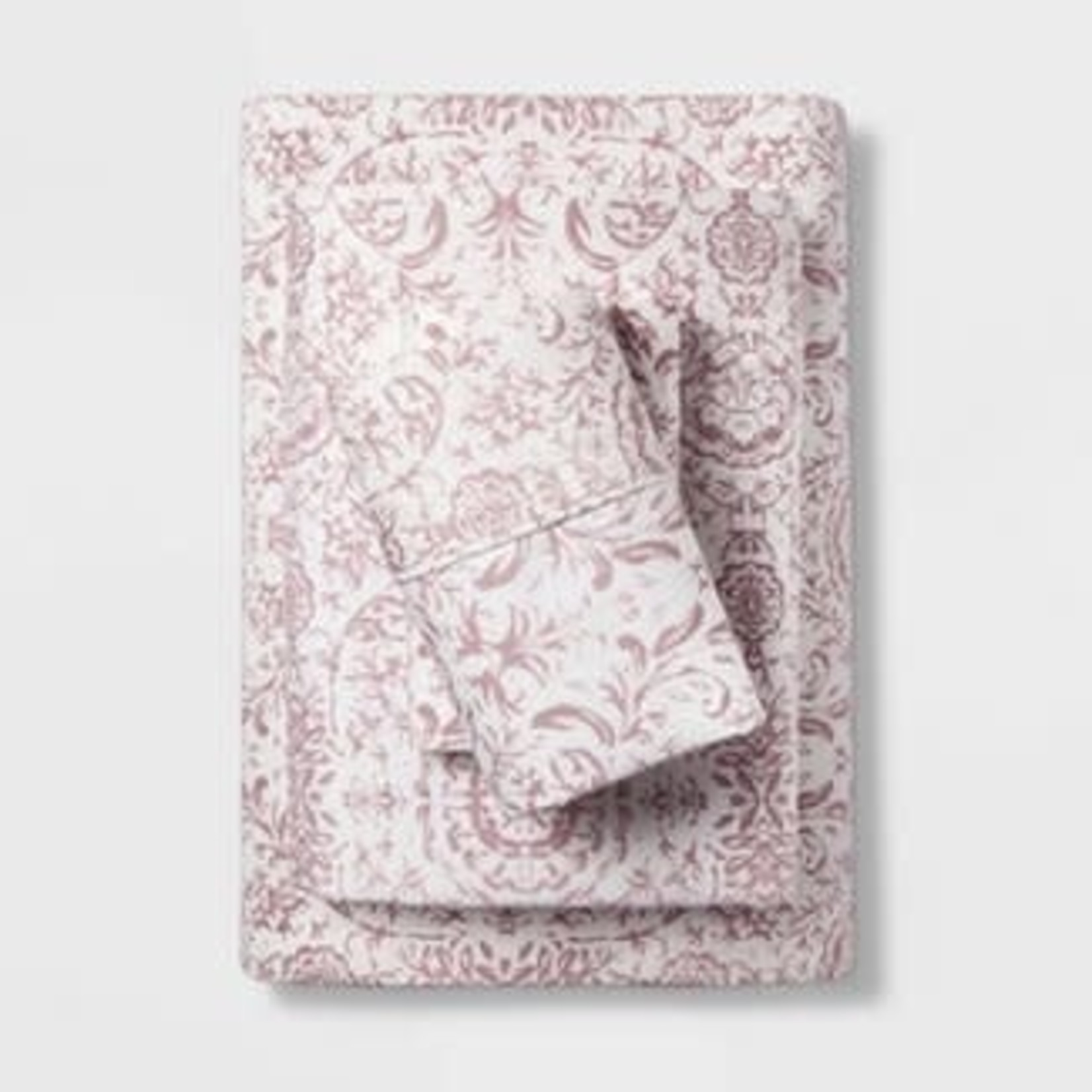 Threshold | 400 Thread Count Printed Performance Sheet Set -Double/Full *Missing one pillowcase