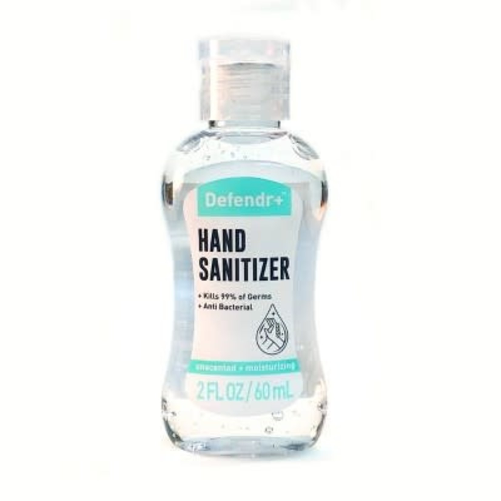 Defendr+ Hand Sanitizer 2floz -Unscented