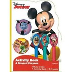 Disney Jr Activity Book With Crayons