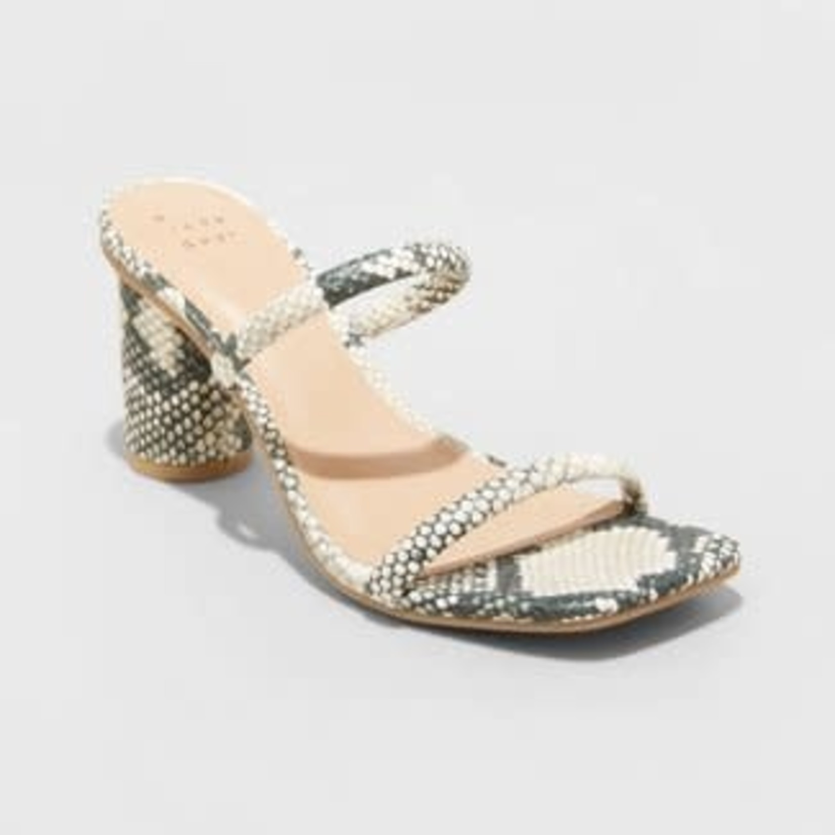 A New Day | Women's Cass Square Toe Heels - Size 7
