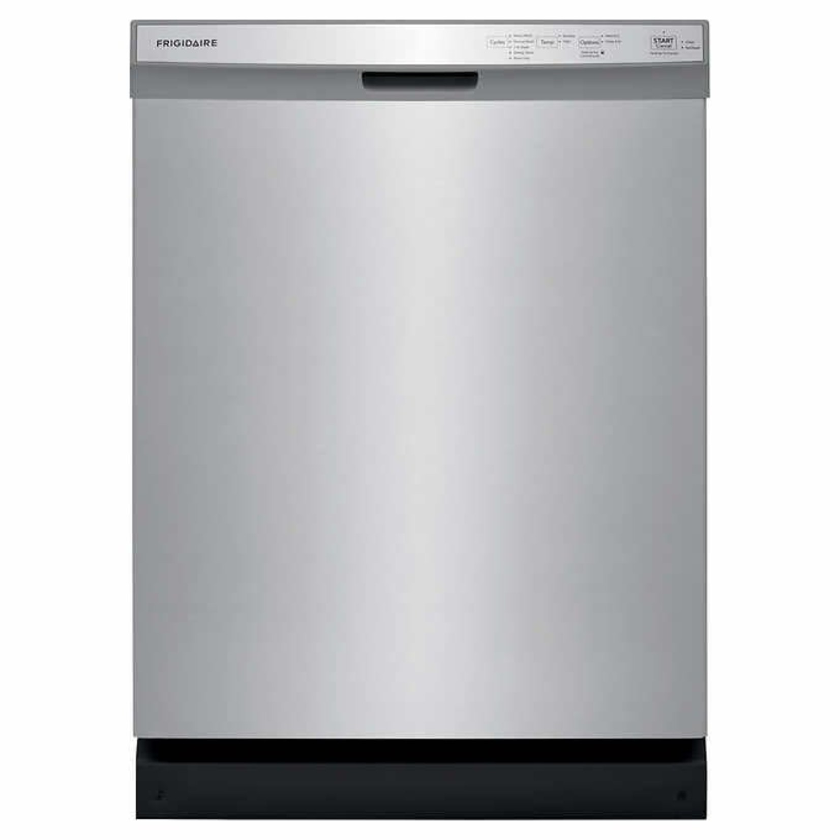 Frigidaire 24 in. Built-In Stainless-steel Dishwasher with Heated Drying System FFCD2418US**missing front base plate**