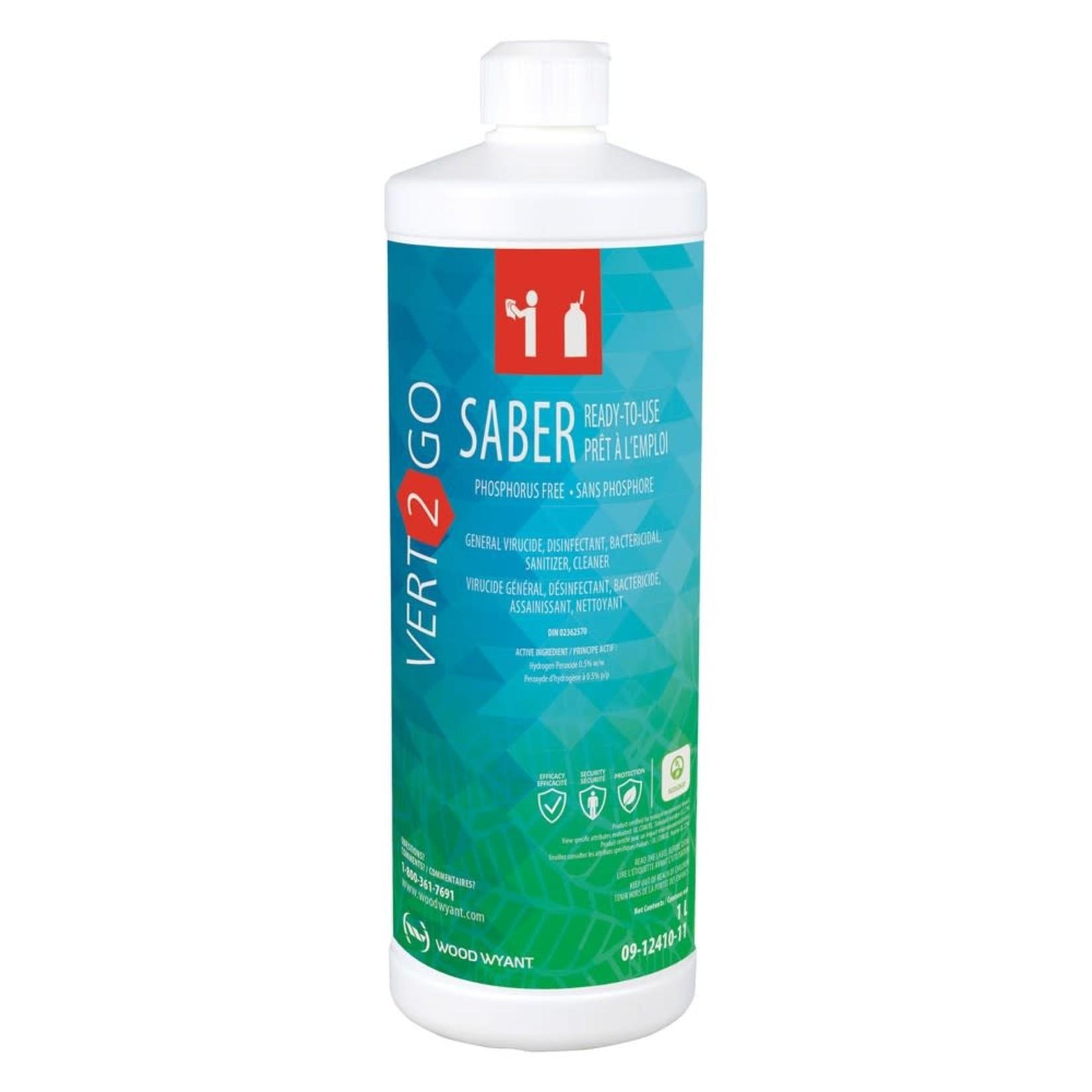 Vert2Go Saber Disinfectant 1L