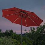 Sunvilla 10ft Market Umbrella with LED Lights *Missing bottom pole