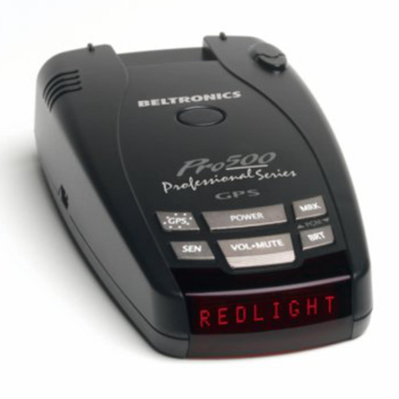 Beltronics Pro 500 Radar Dectector with GPS Camera Database *Open box