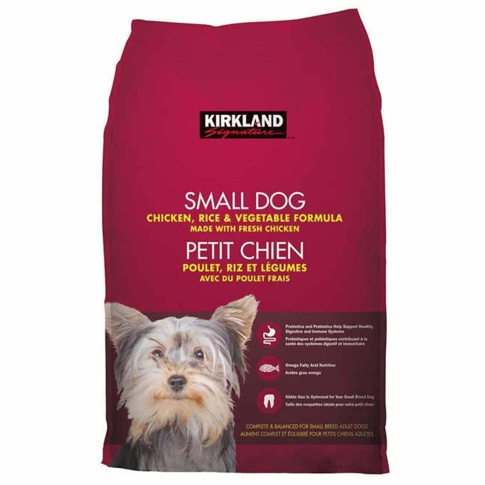 Kirkland Signature Small Dog Chicken Rice & Vegetable Formula 9.07kg