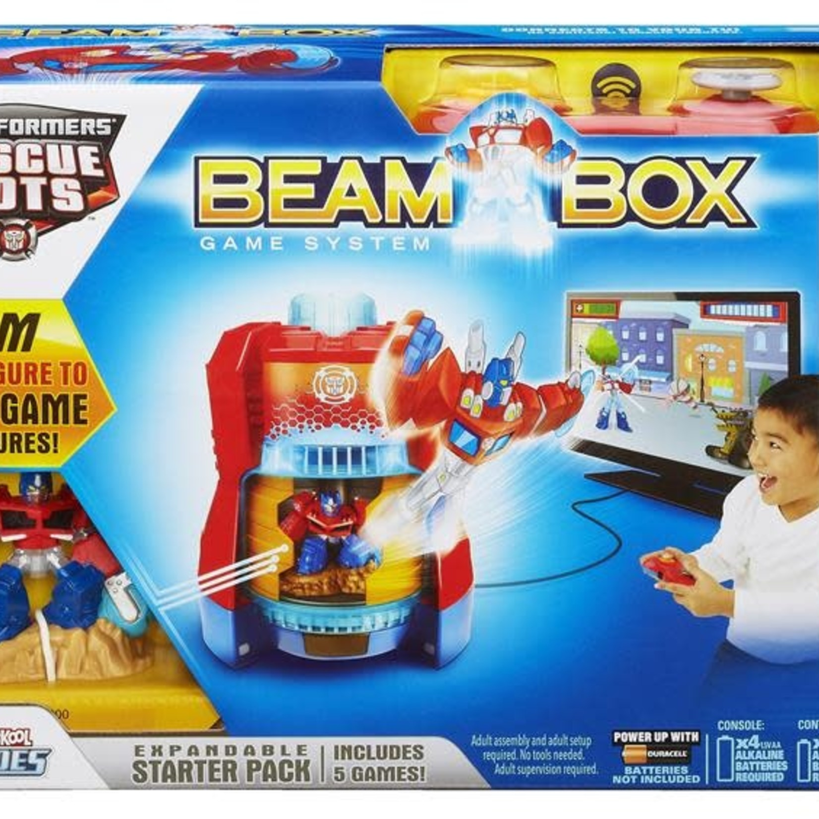 Transformers Rescue Bots Beam Box Game System