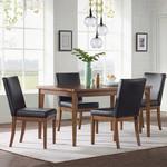 Kelvin Modern 5-piece Dining Room Set *Missing 2 legs on one chair