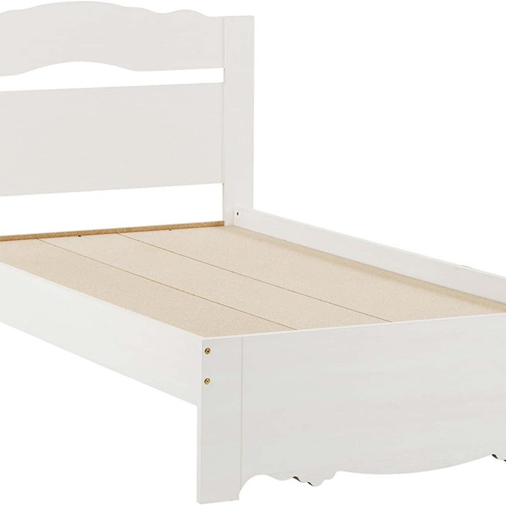 Southshore Lily Rose White Twin Bed