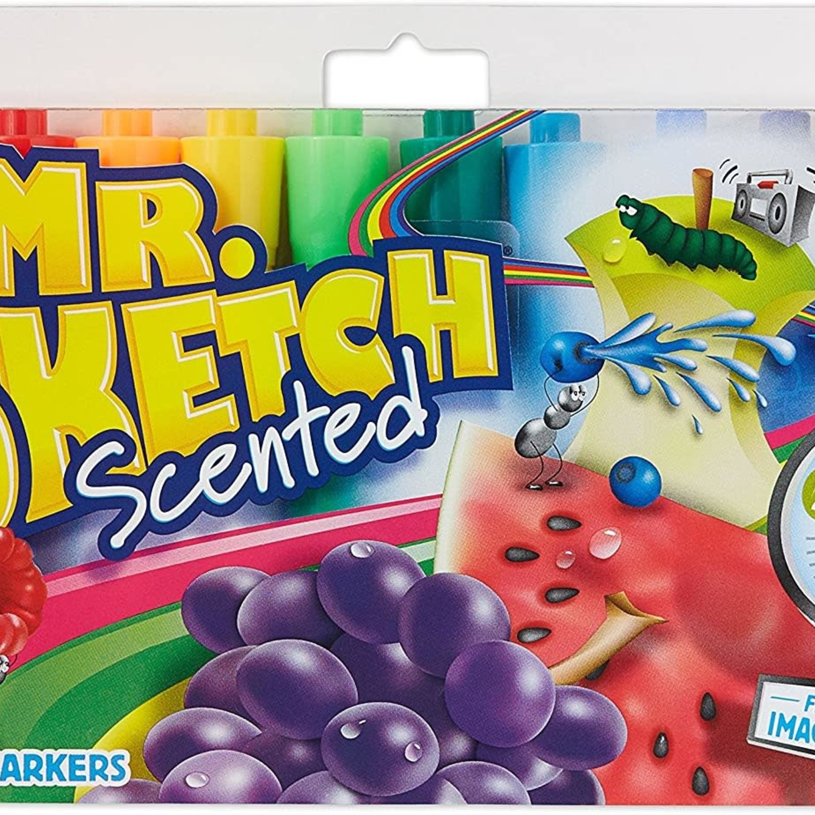 Mr. Sketch Scented Water Colour Markers, Assorted, 12-Pack