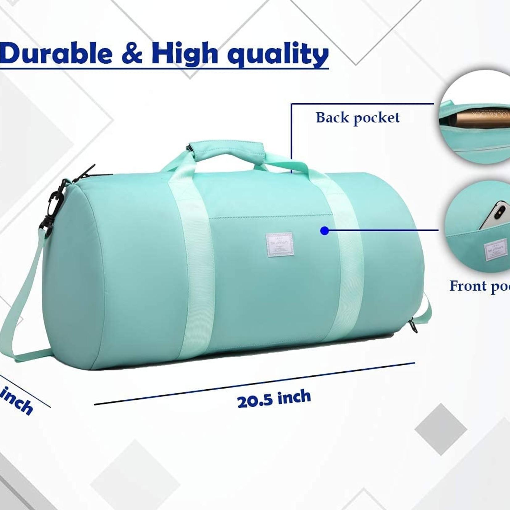 BE SMART Light-Weight Waterproof Travel Bag Large Capacity (Mint Green)
