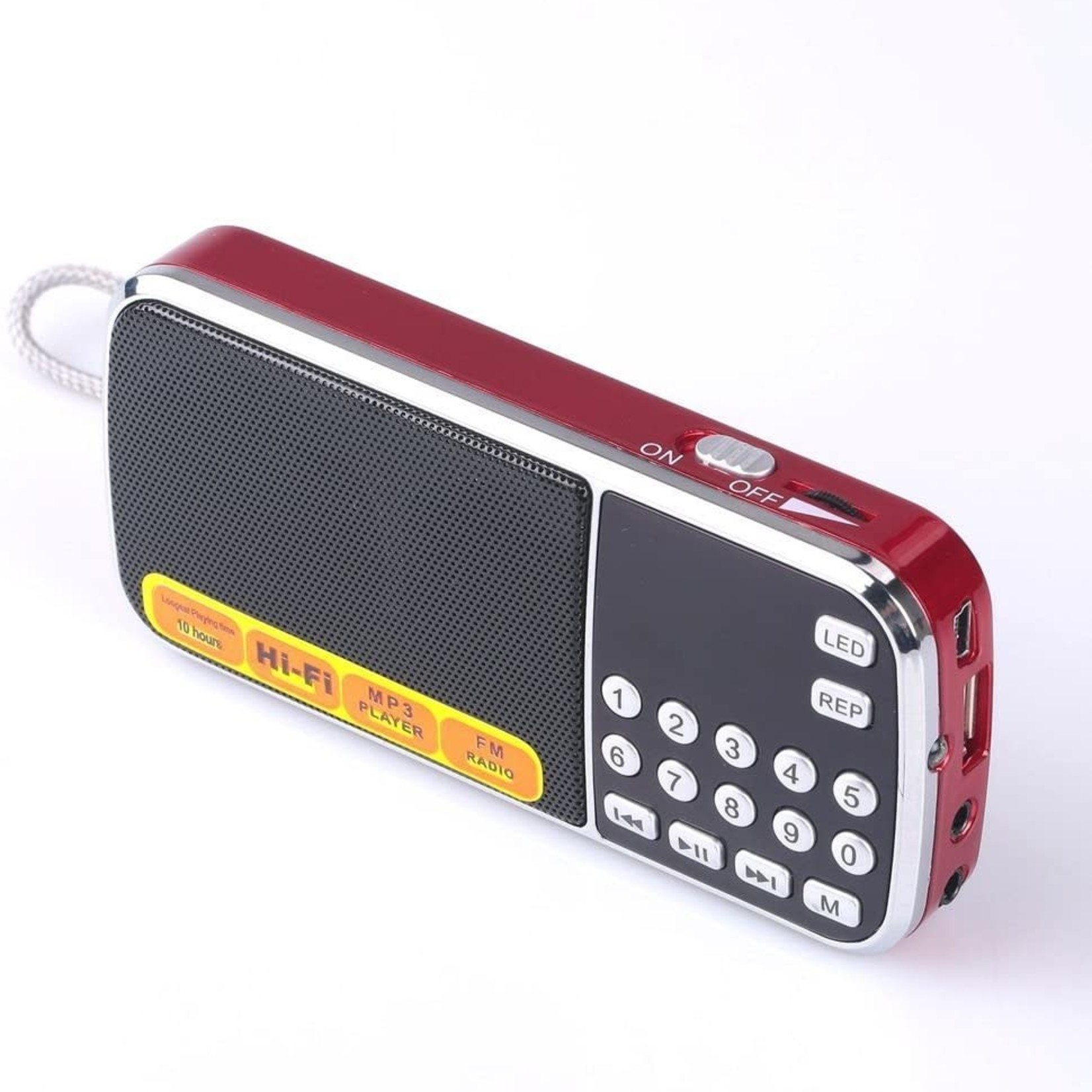 Mfine Portable Mini USB FM Radio Speaker Music Player Micro SD/TF Card For PC iPod Phone