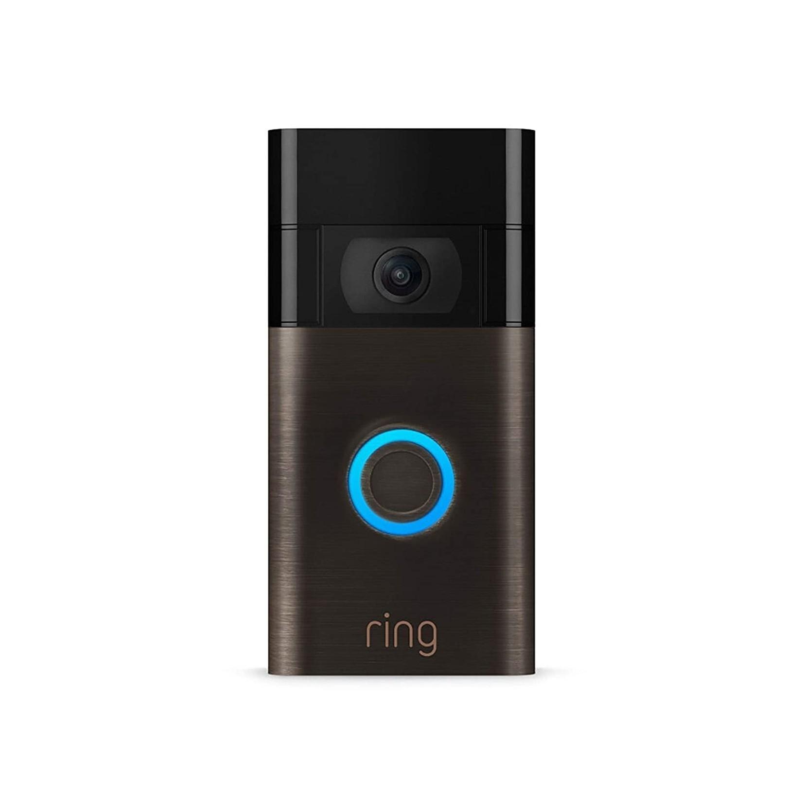 Ring Video Doorbell – 1080p HD video – Venetian Bronze