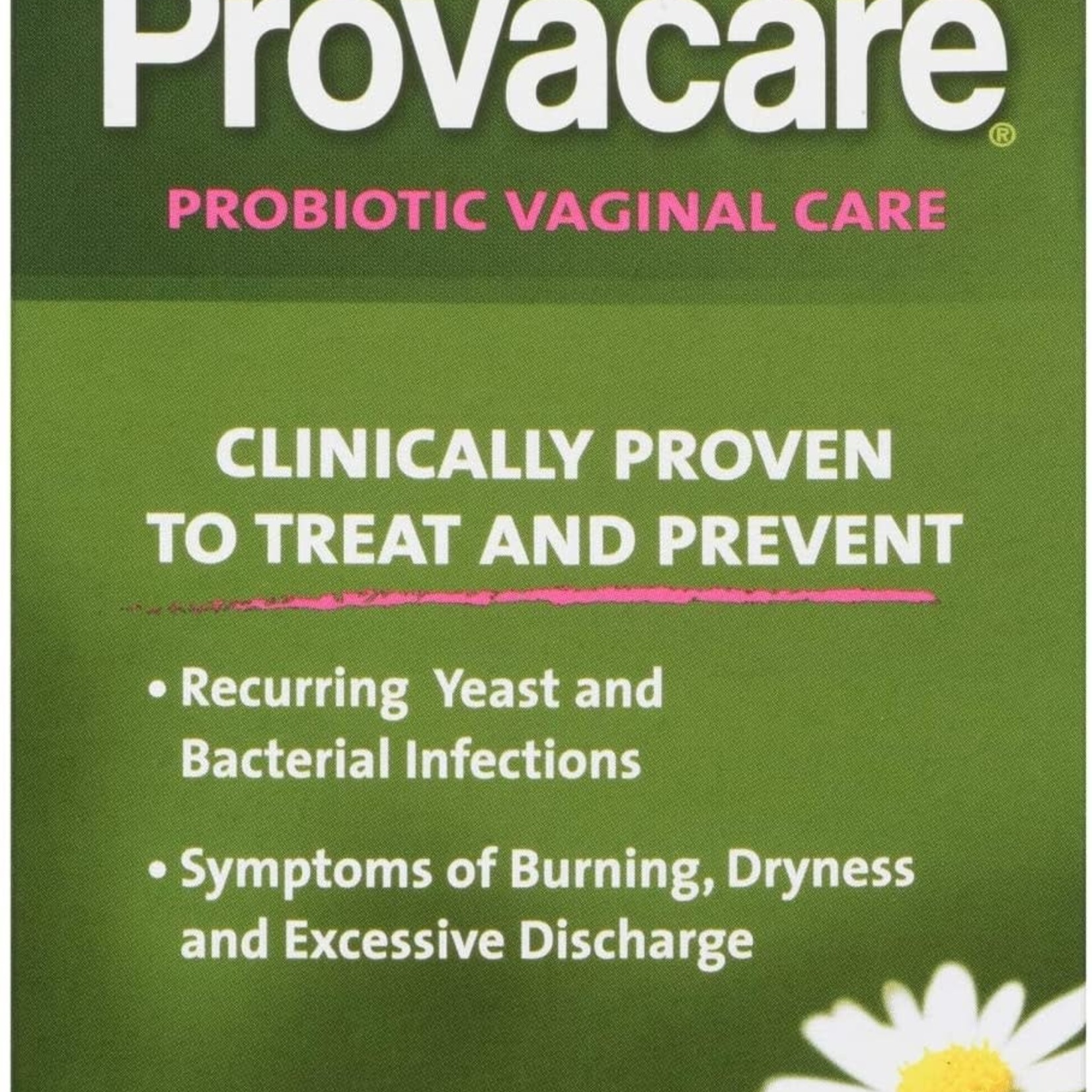 Provacare Probiotic Vaginal Care, Natural Treatment for Vaginal Yeast and/or Bacterial Infection, 14-Count