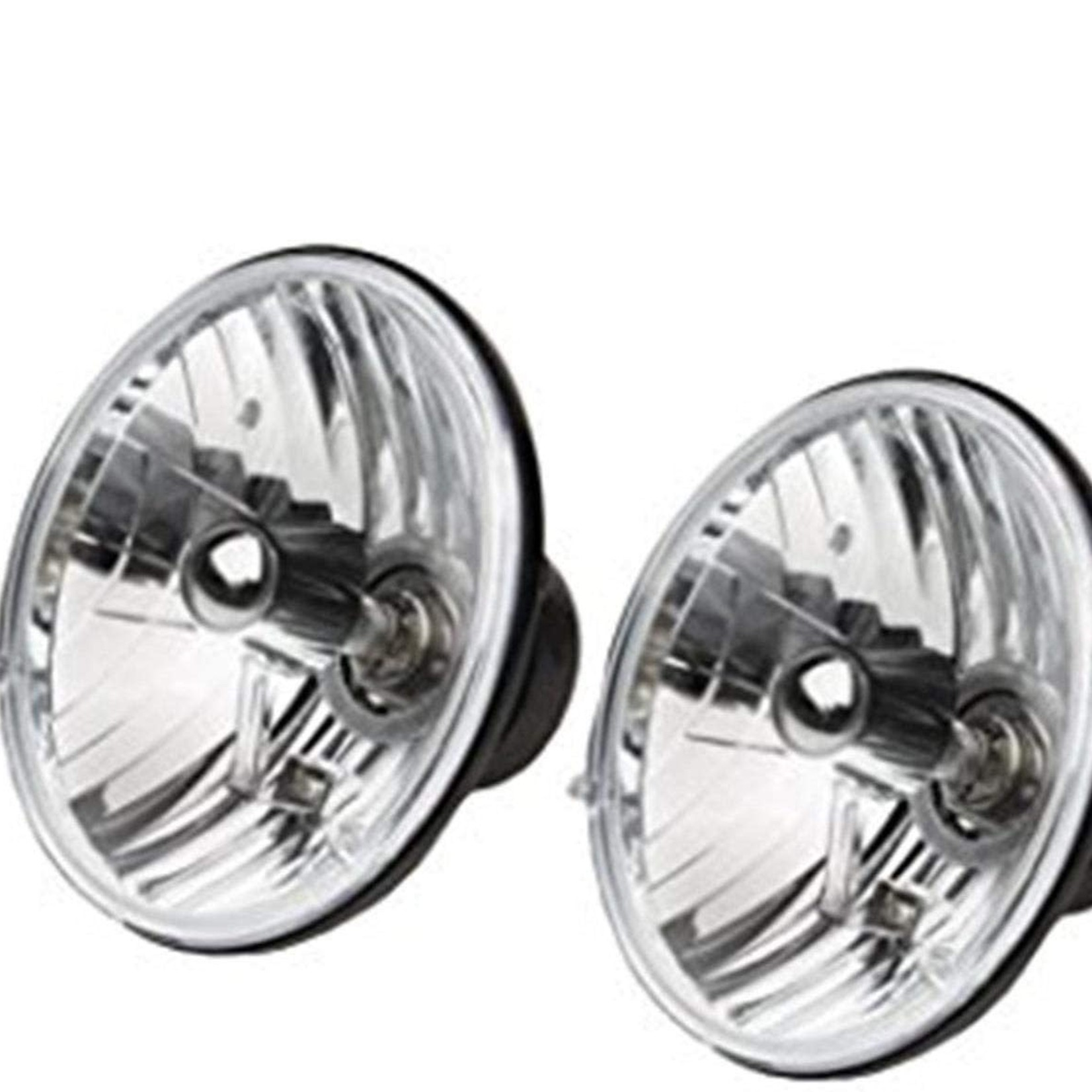 """Rampage Halogen Conversion Headlight Kit 7"""" Round*Does not include bulbs, missing  rubber gasket on back 5089925"""