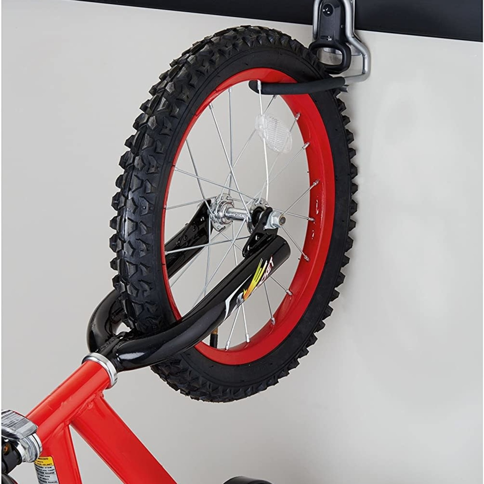 Rubbermaid 5E02 Fasttrack Vertical Bike Hook