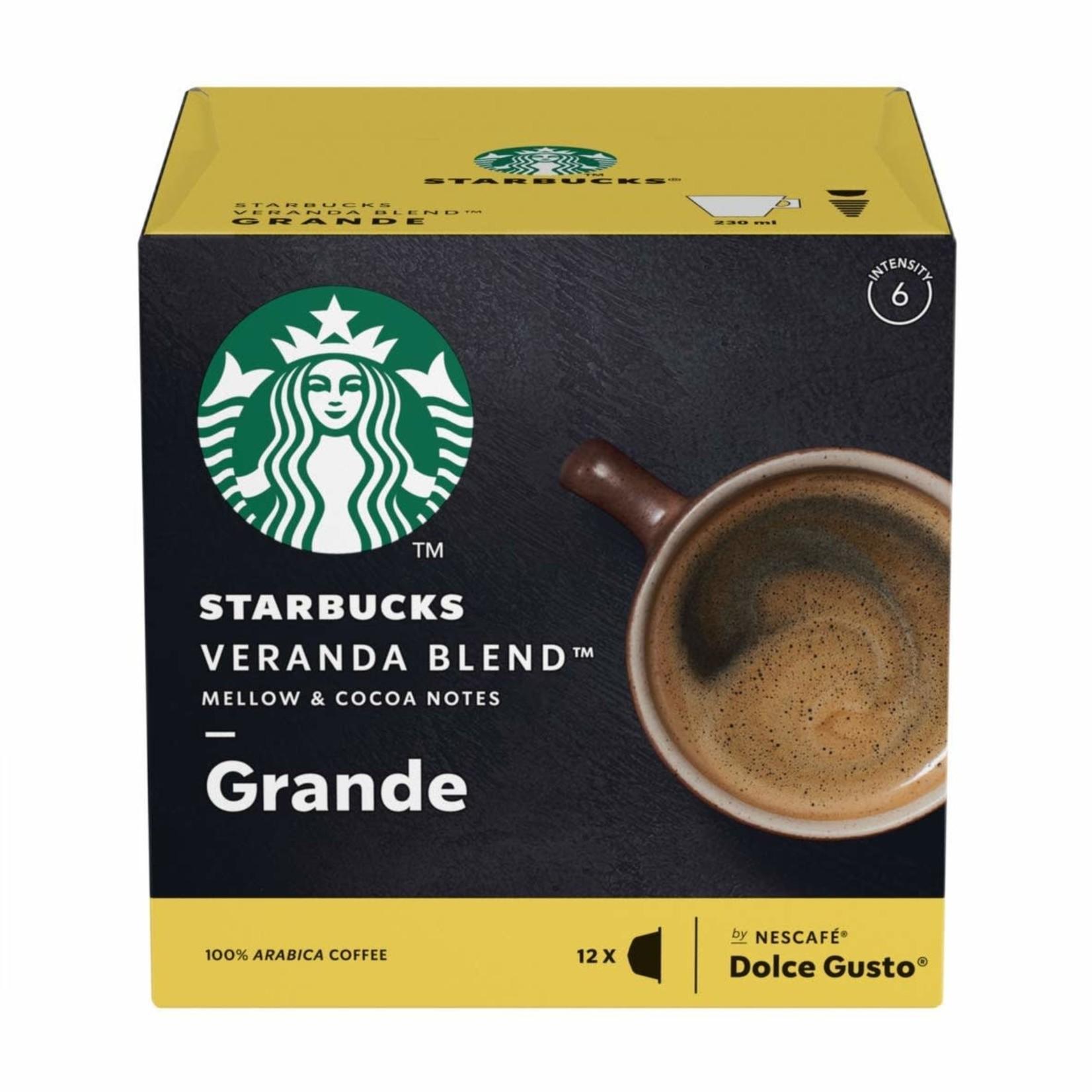 Nescafe Dolce Gusto Starbucks Veranda Blend Grande 12 Pods
