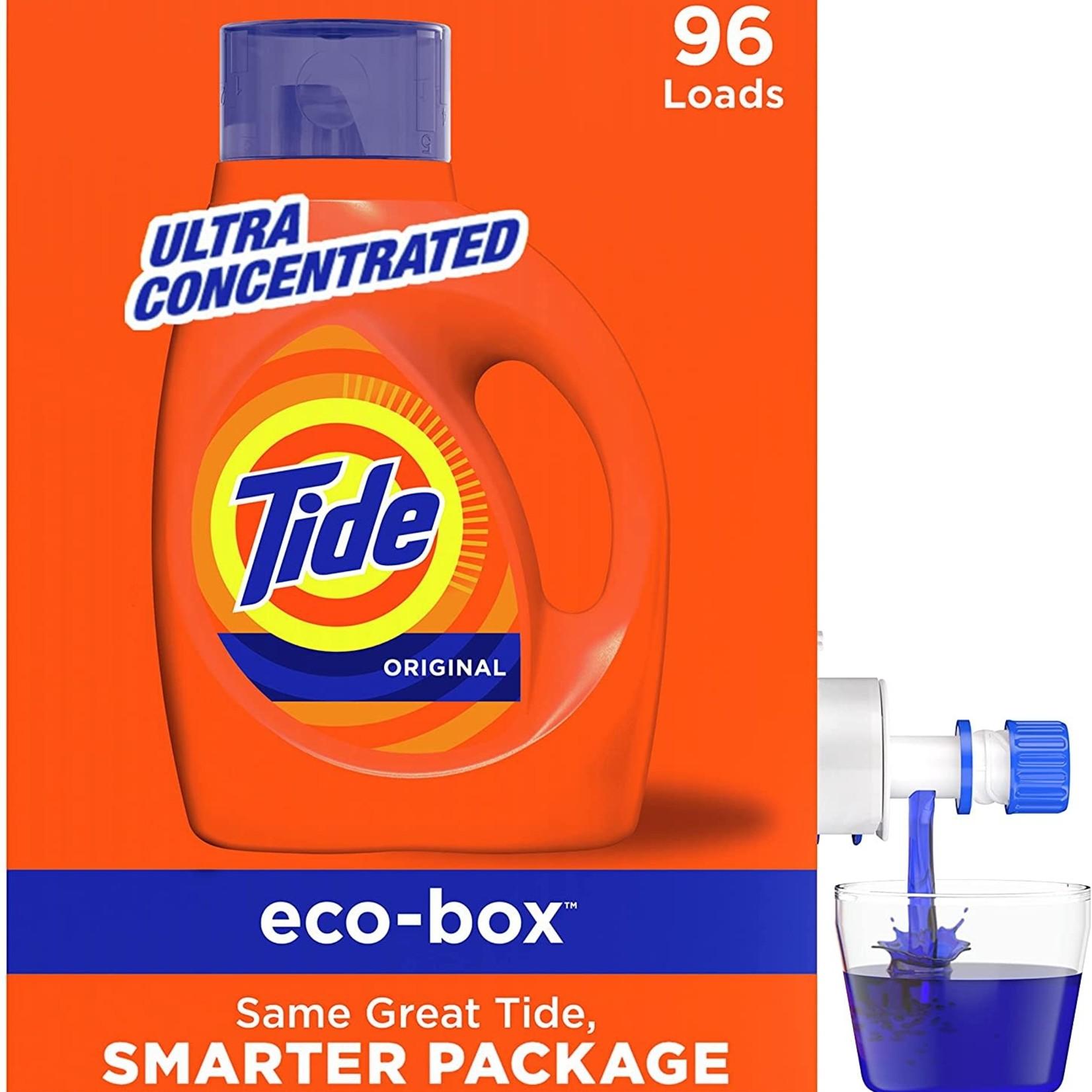 Tide Original Laundry Detergent Ecobox 96 loads