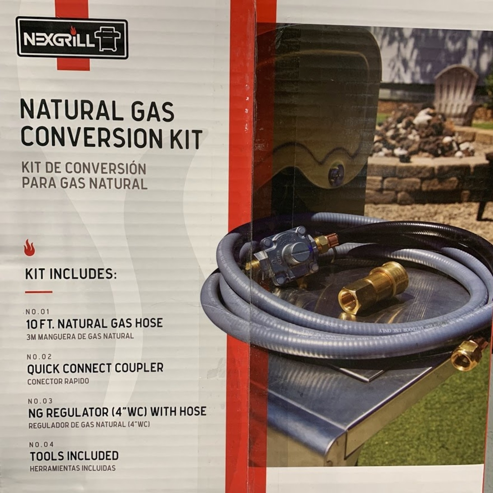 Nexgrill Natrual Gas Conversion Kit 710-0008