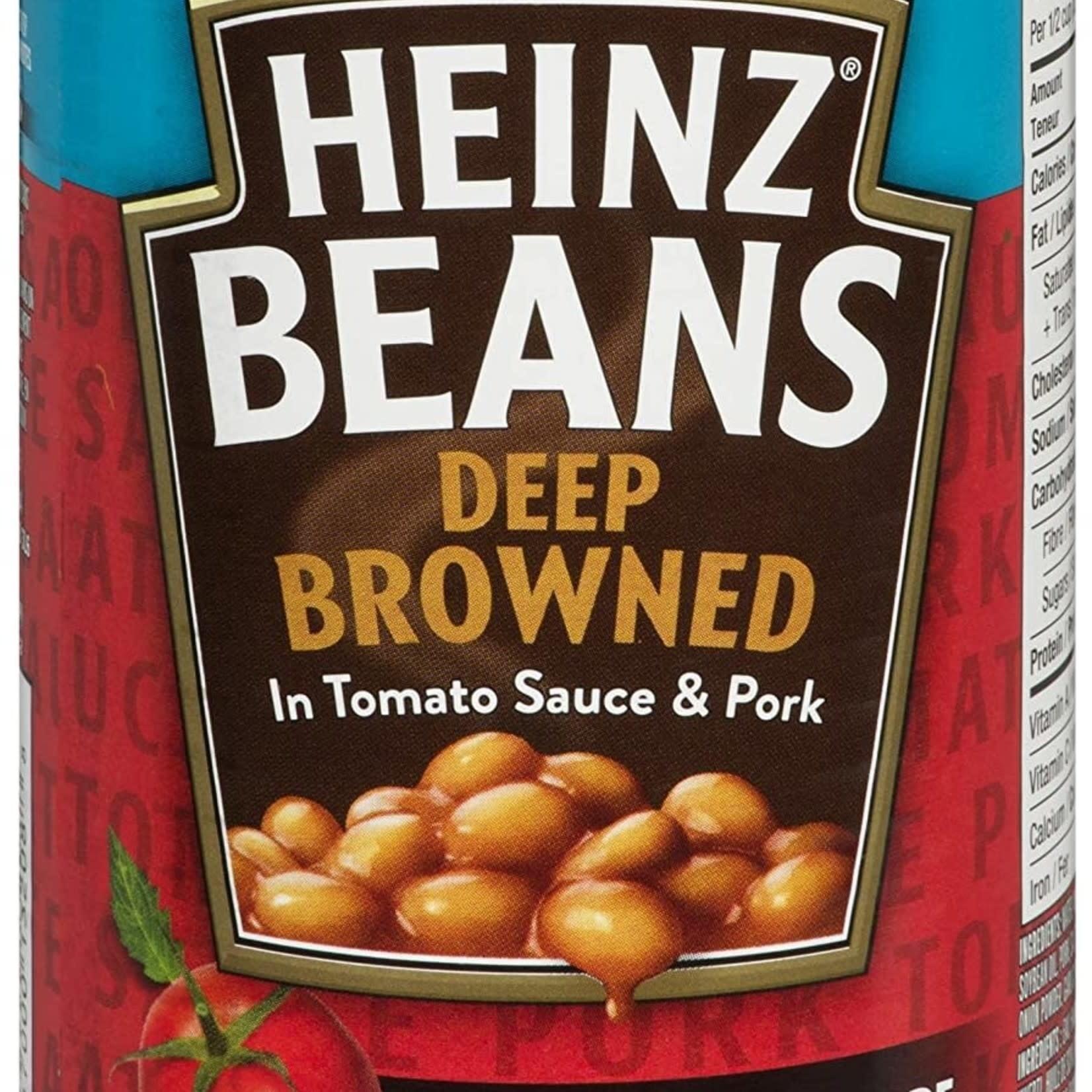 Heinz Beans Deep Browned 398ml single