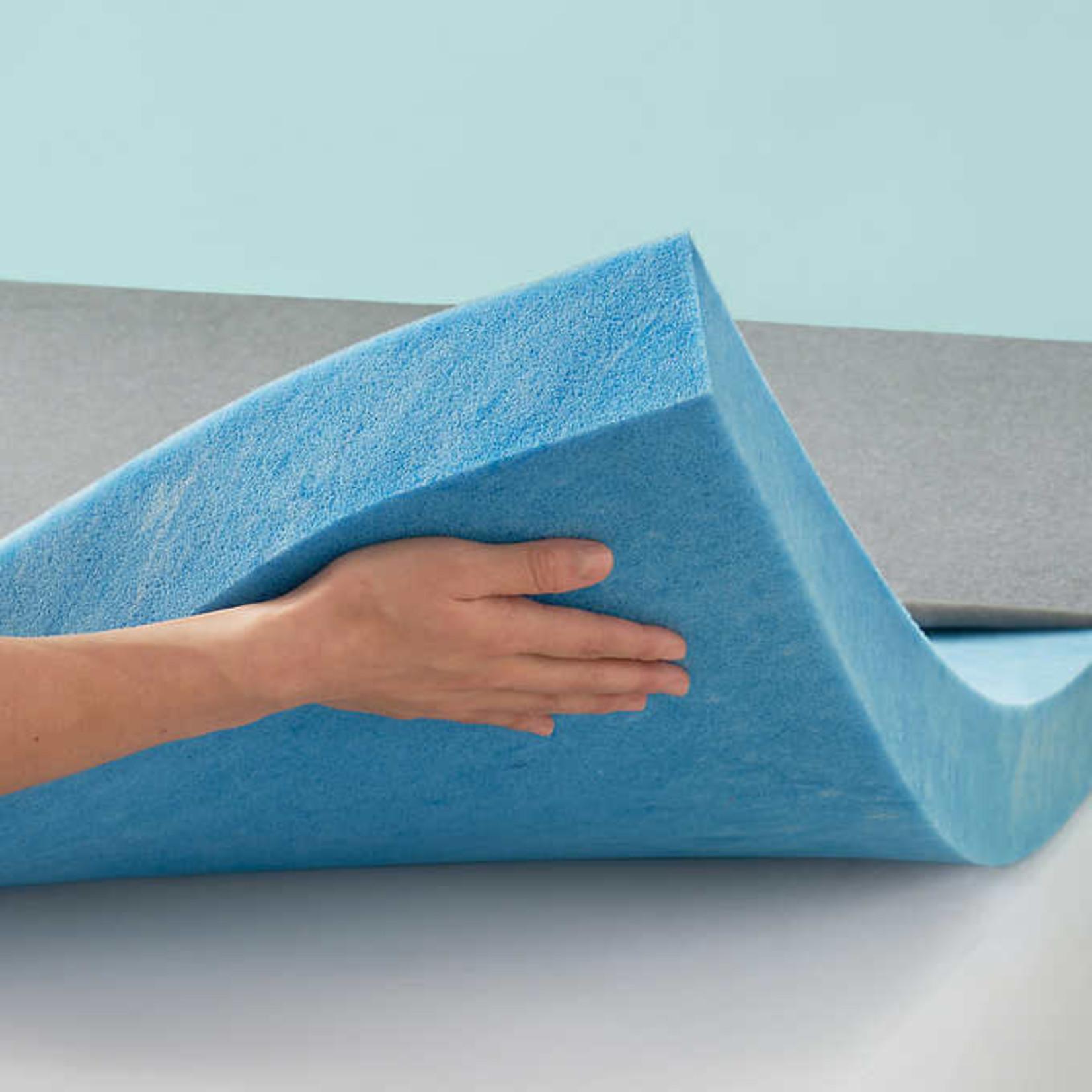 Novaform Soothing Cool EVENcor GelPlus Memory Foam 7.6cm Mattress Topper -DOUBLE