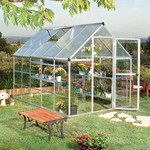Palram Build & Grow 6 ft. x 10 ft. Hybrid Greenhouse *Open box, missing parts