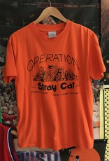934 operation stray cat tee orange sz L
