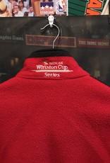 1706 winston cup fleece red/black sz L