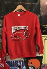 1789 wolfpack country crewneck sz. S