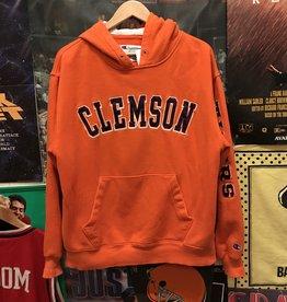 Champion Clemson Hoodie Orange sz L