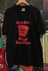 2508drink red dog tee sz. XL