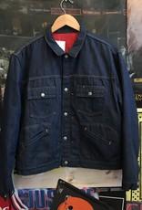 2796insulated denim jacket sz. M
