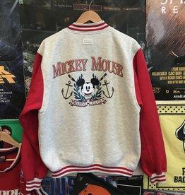 Mickey Mouse Marine Club Varsity Jacket sz L