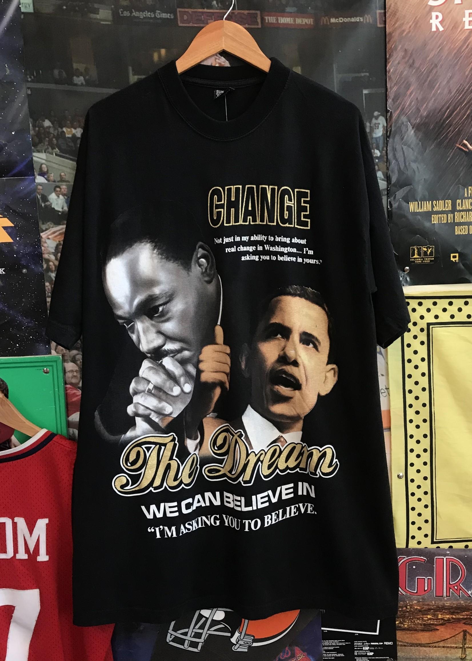 3017obama the dream tee black sz 2XL