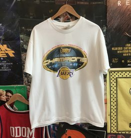 2001 Champion Los Angeles Lakers Champs Tee sz L