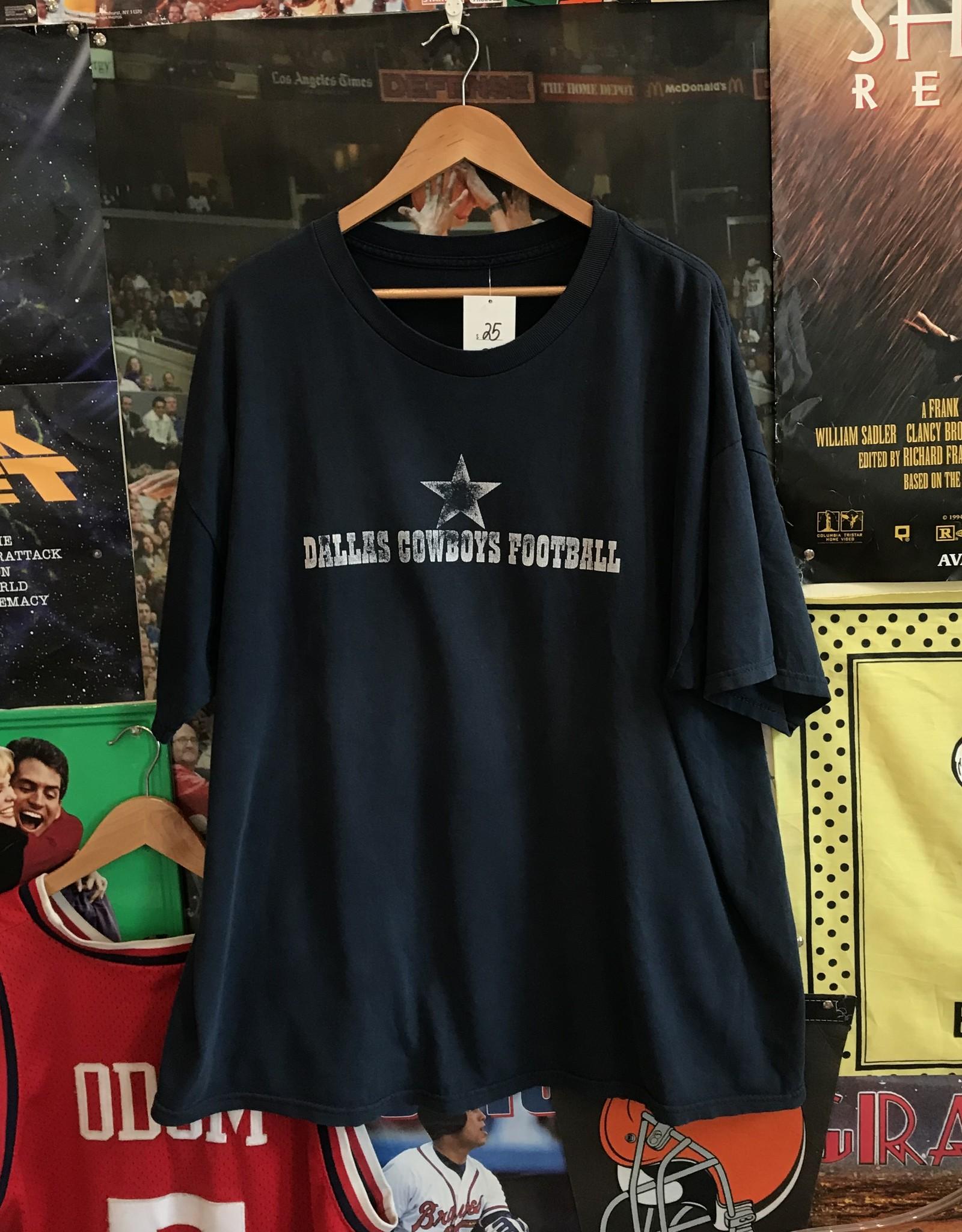 3161cowboys football tee navy sz XL