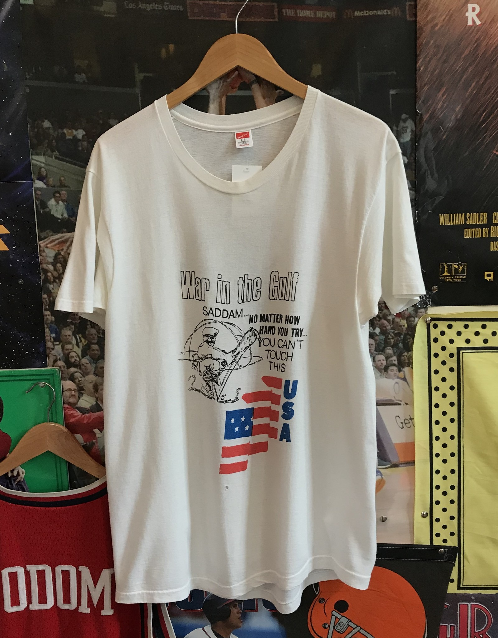 33211991 war with the gulf tee white sz L