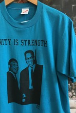 3316unity is strength tee teal sz L