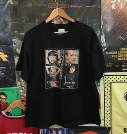 Justin Timberlake Justified Tour Tee sz L