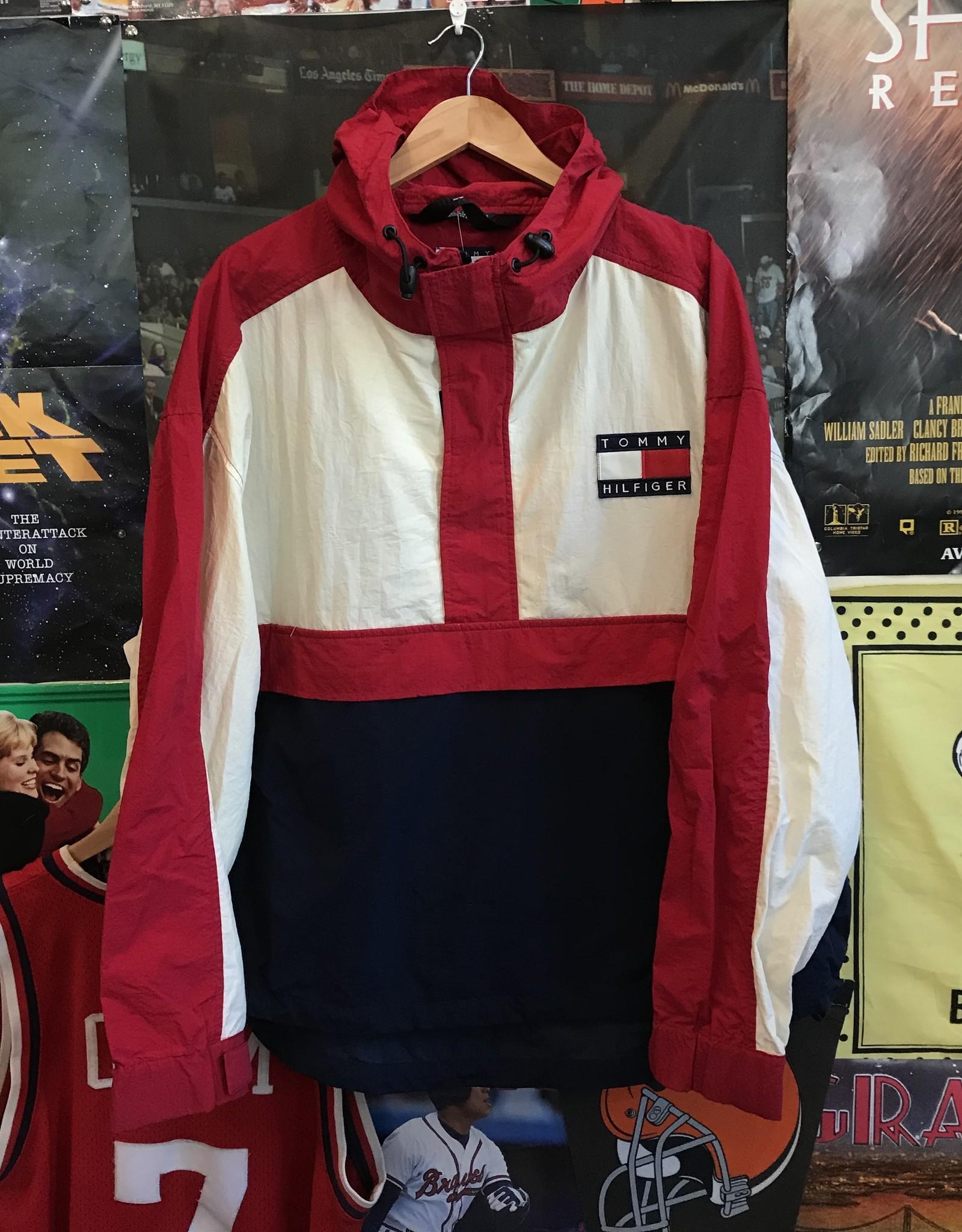 3371tommy jacket red/white/navy sz XL