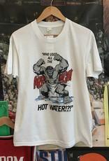 1117 1989 hulk hot water tee white sz L