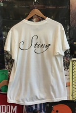 3428sting the soul cages tee white sz L/XL