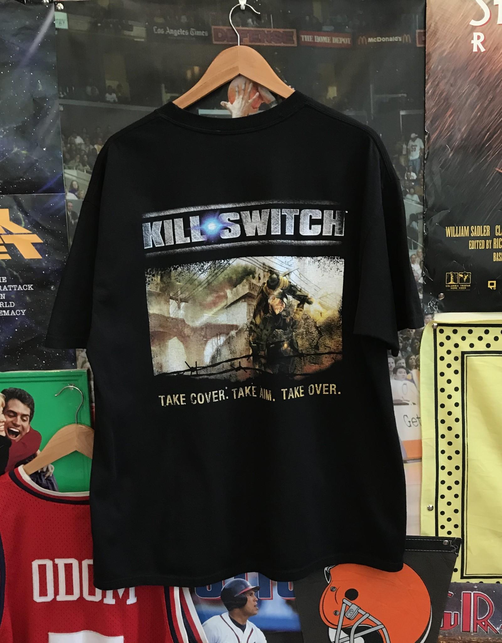 3453killswitch tee black sz XL