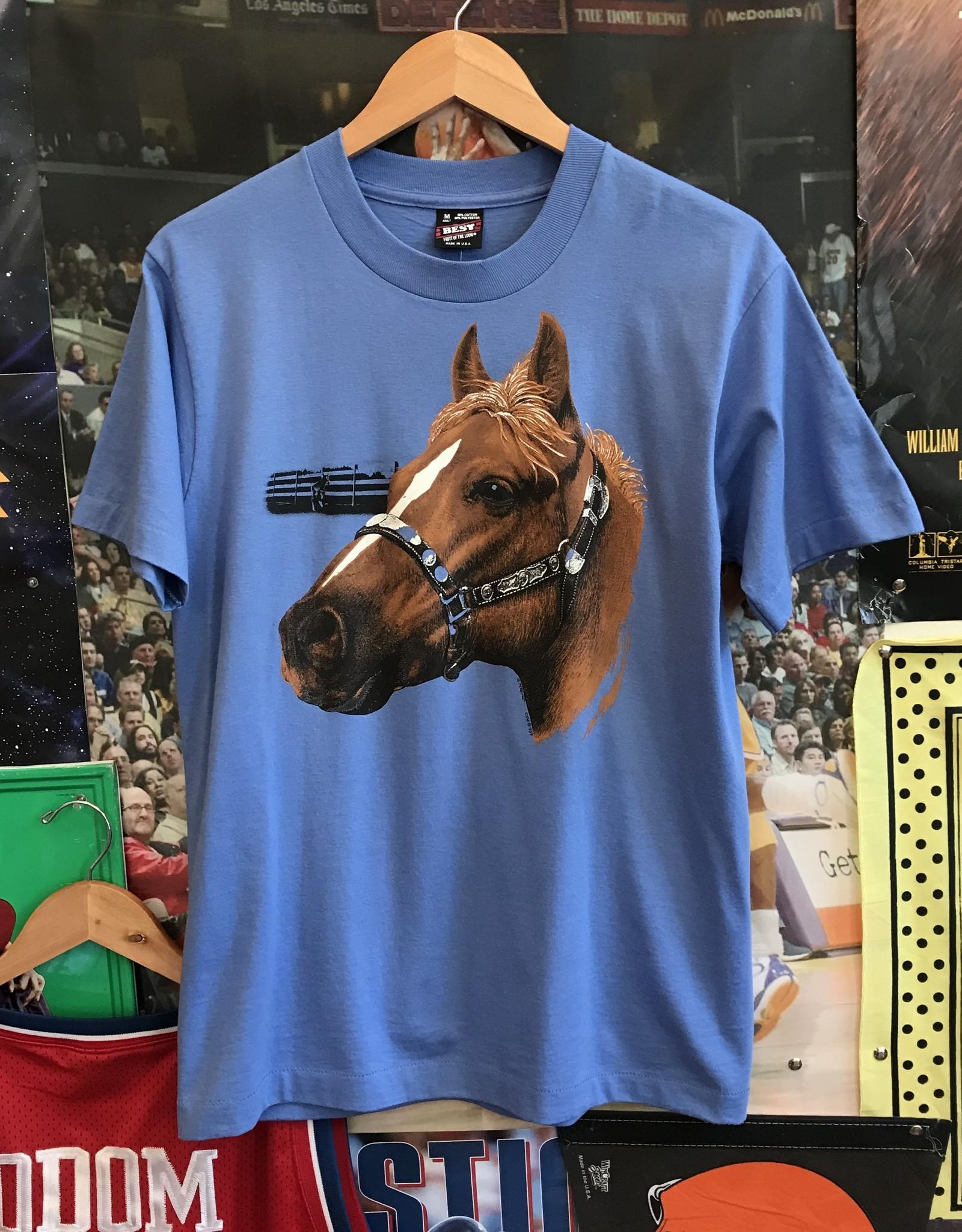 3520horse tee blue sz M