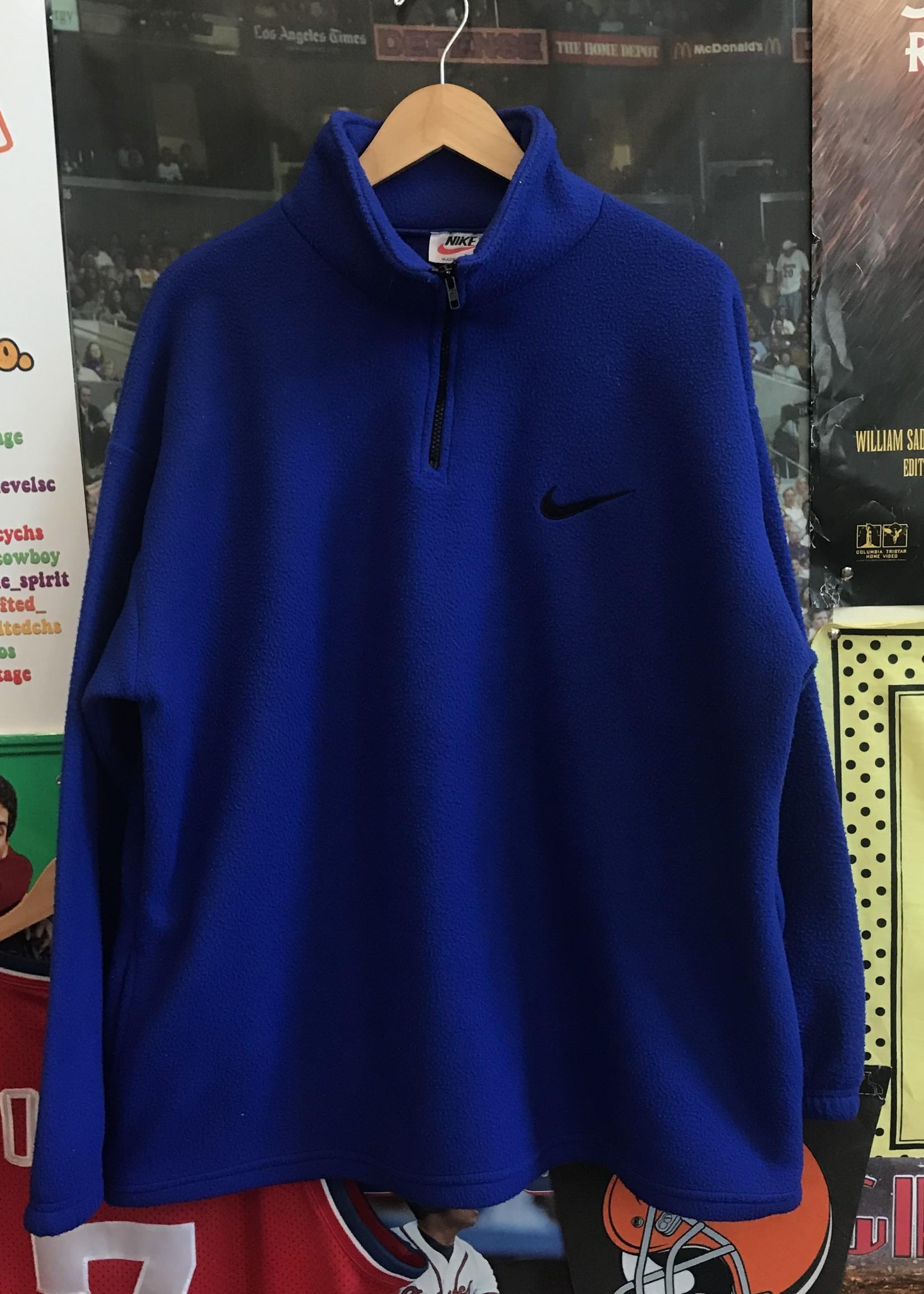 3625bootleg nike fleece blue sz XL