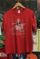36291985 day of fishing tee red sz XL